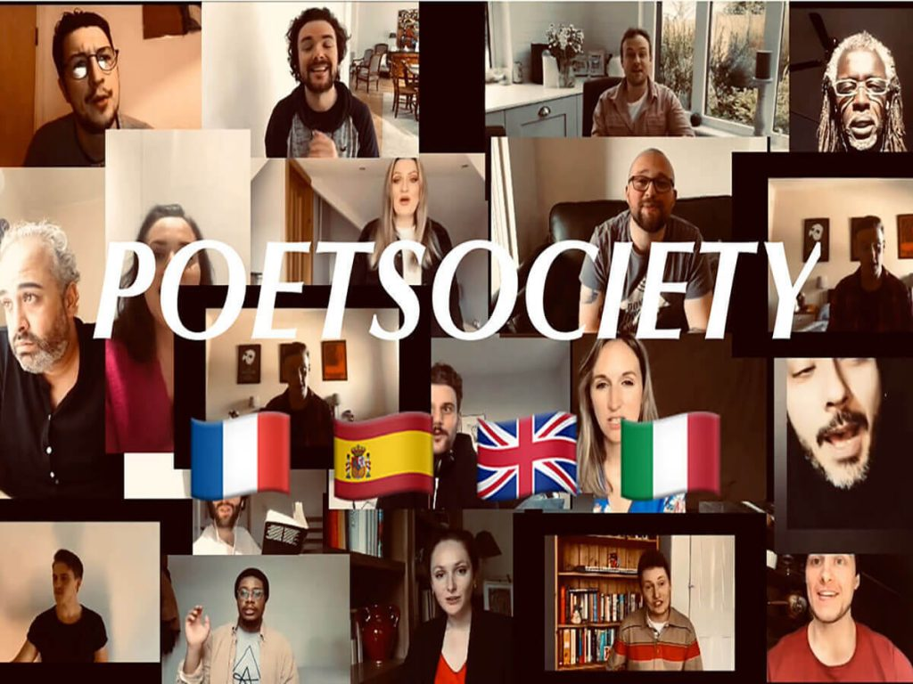 Poet Society Europe Erasmus Theatre
